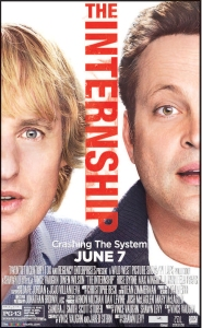 Watch this movie for more tips on what not to do to get an actual internship.